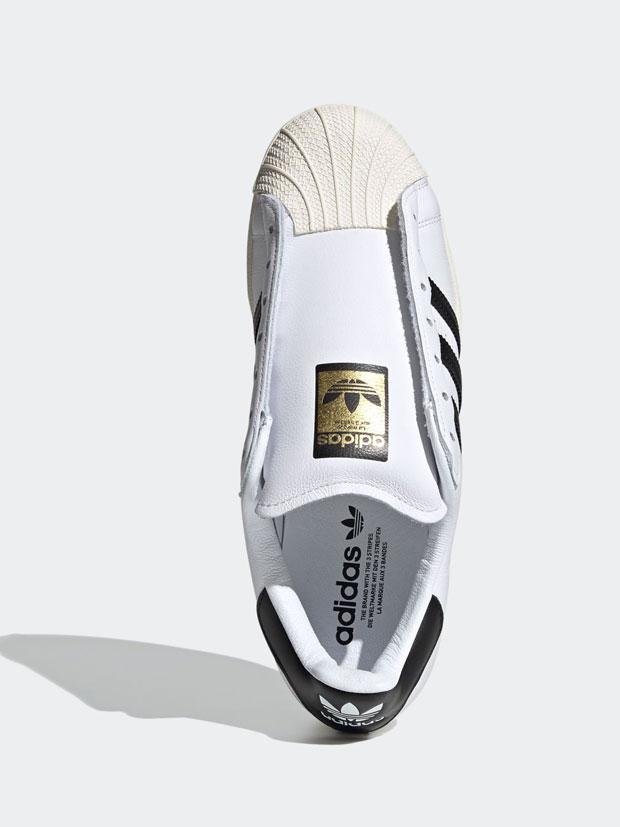 adidas Originals SUPERSTAR LACELESS WHITE/CORE