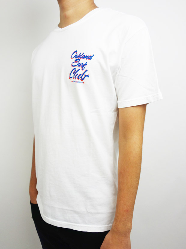 Oakland Surf Club SINALOA Tee White