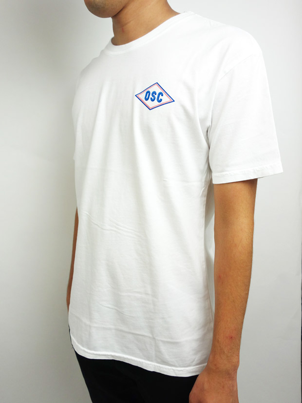 Oakland Surf Club HENLY Tee White