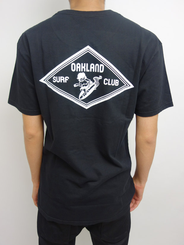 Oakland Surf Club HENLY Tee Black