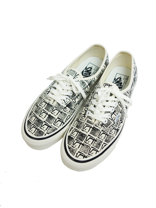 VANS AUTHENTIC 44 DX (ANAHEIM FACTORY) OG WHITE/SQUARE ROOT