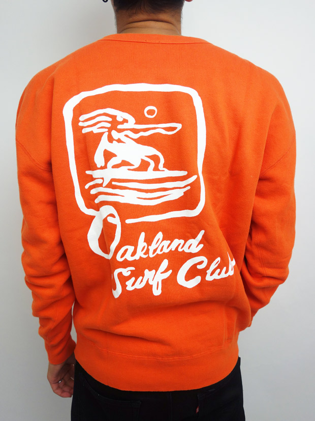 Oakland Surf Club JOONBUG crew Orange