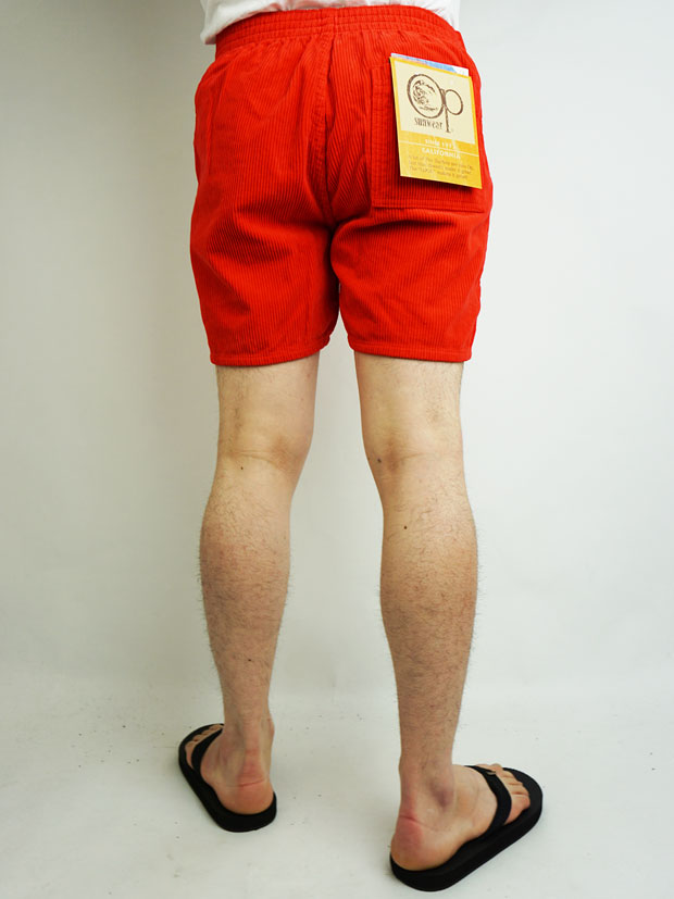 Ocean Pacific 8w CORDUROY SHORTS RED