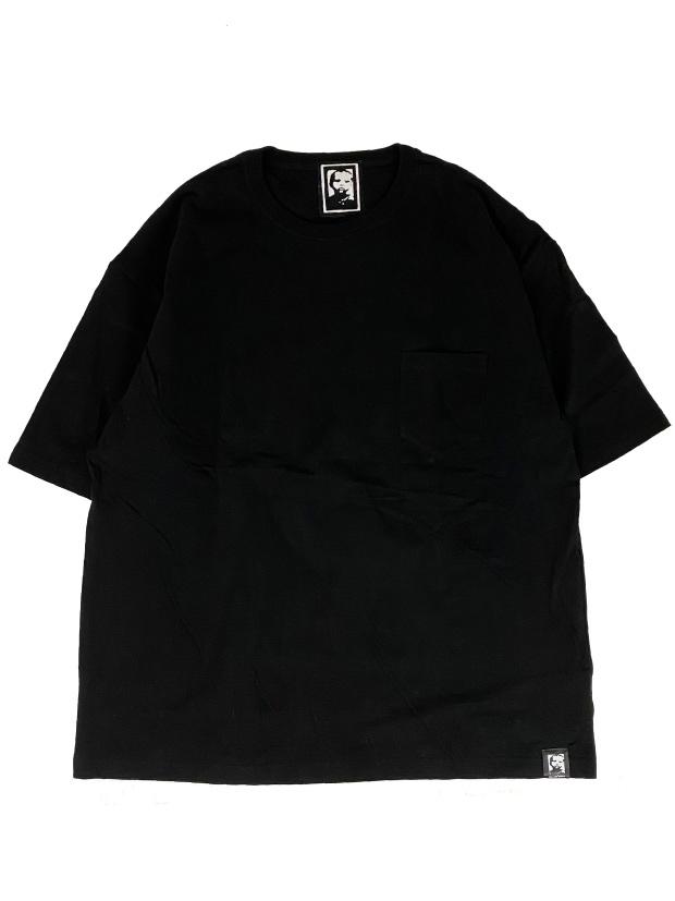 Rolland Berry LEGEND 2 sp loose fit /pocket Tee BLACK