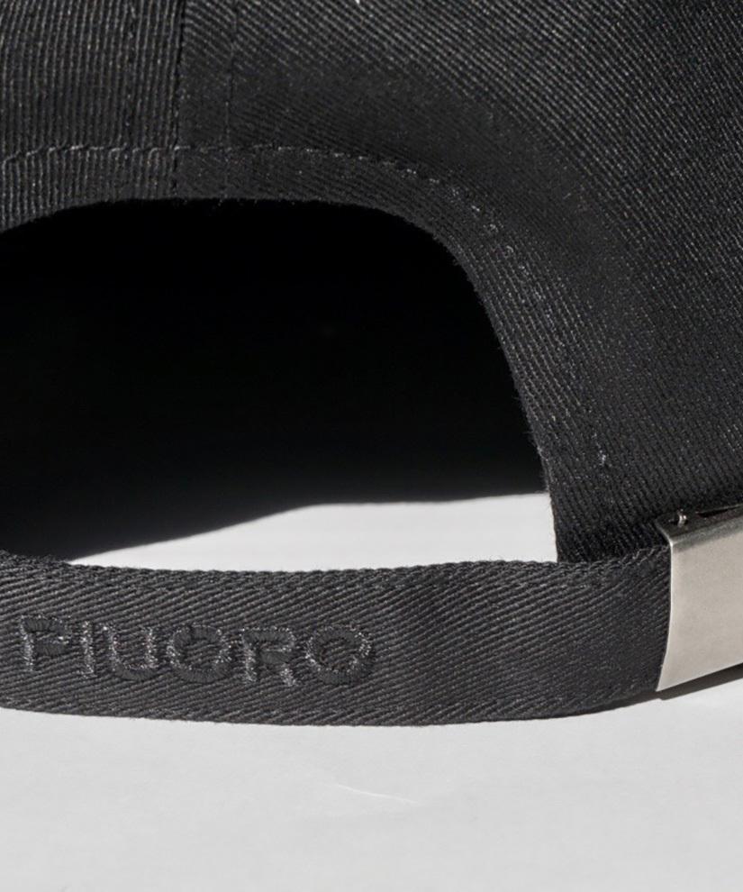 PIUORO CAP BLACK/BLACK