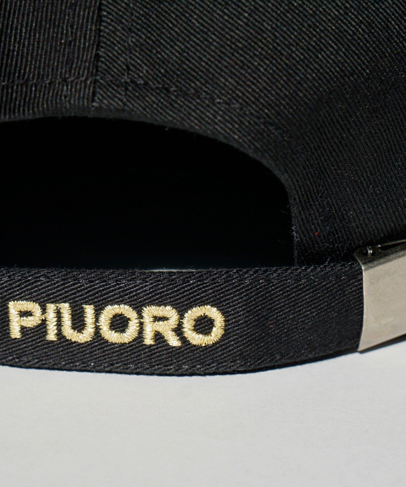 PIUORO CAP BLACK/GOLD