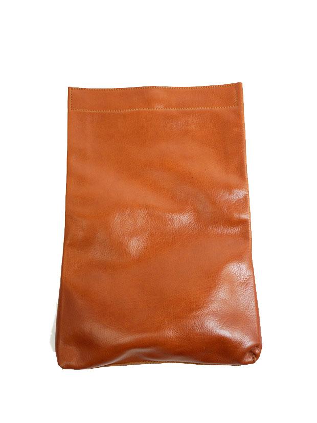PIUORO MULTI CLUTCH BAG BROWN