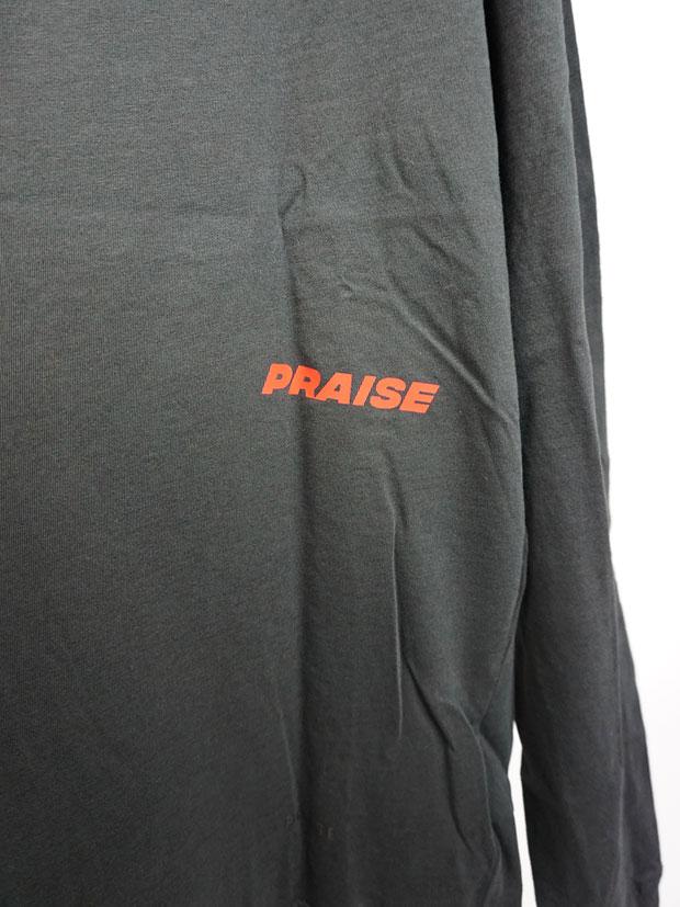 PRAISE. CORE L/S TOP (W/Graphics) BLACK