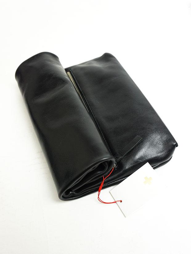 PIUORO MULTI CLUTCH BAG BLACK