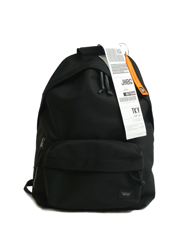junhashimoto back pack BLACK