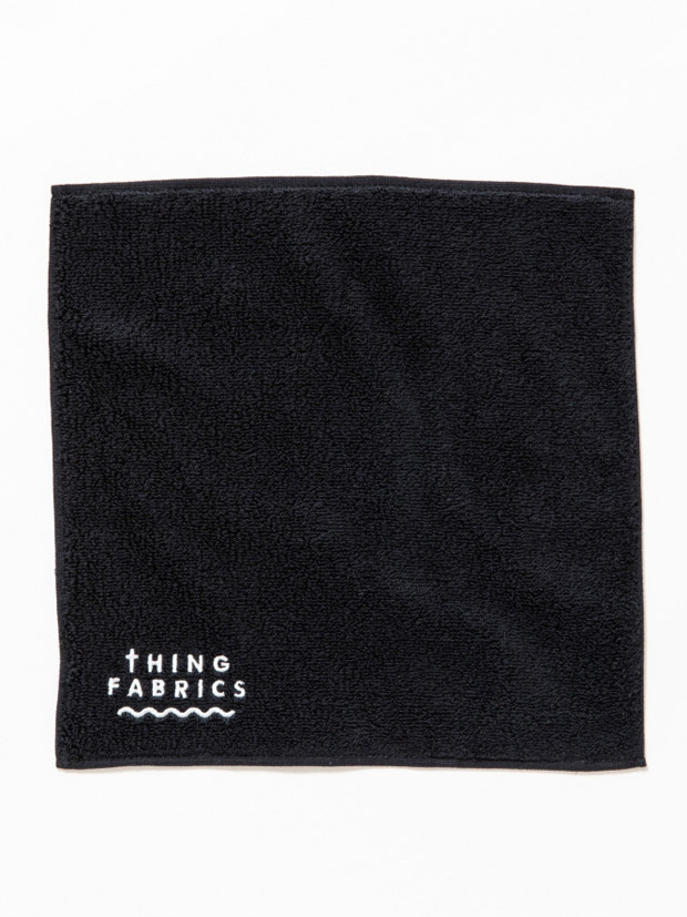 THING FABRICS TIP TOP 365 hand towel Black