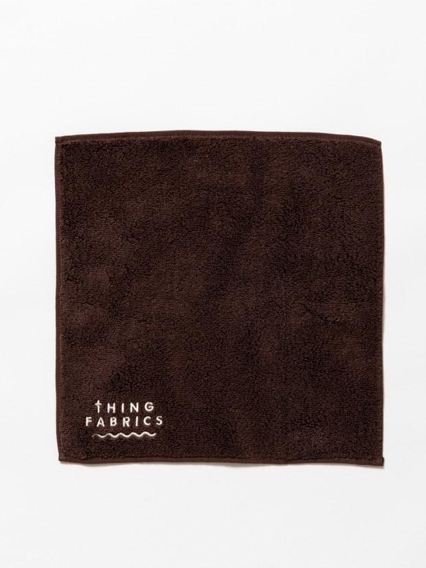 THING FABRICS TIP TOP 365 hand towel Brown