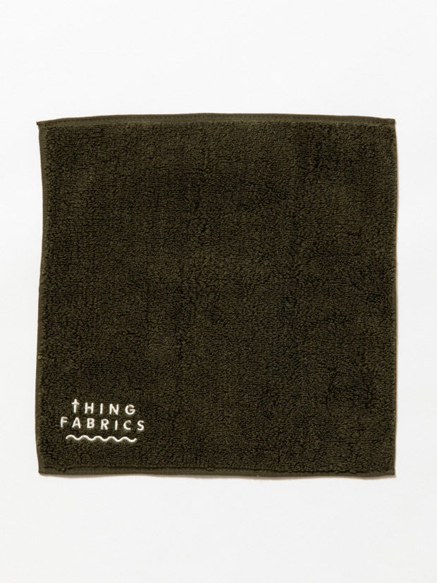 THING FABRICS TIP TOP 365 hand towel Olive Green