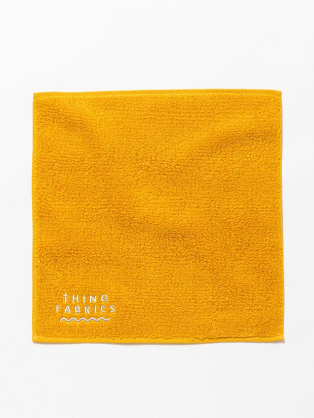 THING FABRICS TIP TOP 365 hand towel Yellow