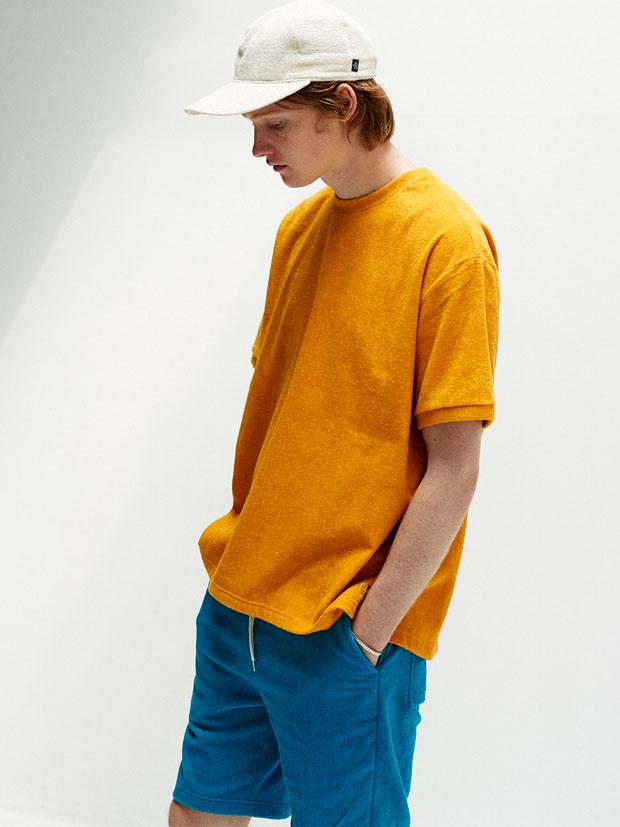 THING FABRICS TF T-shirt YELLOW