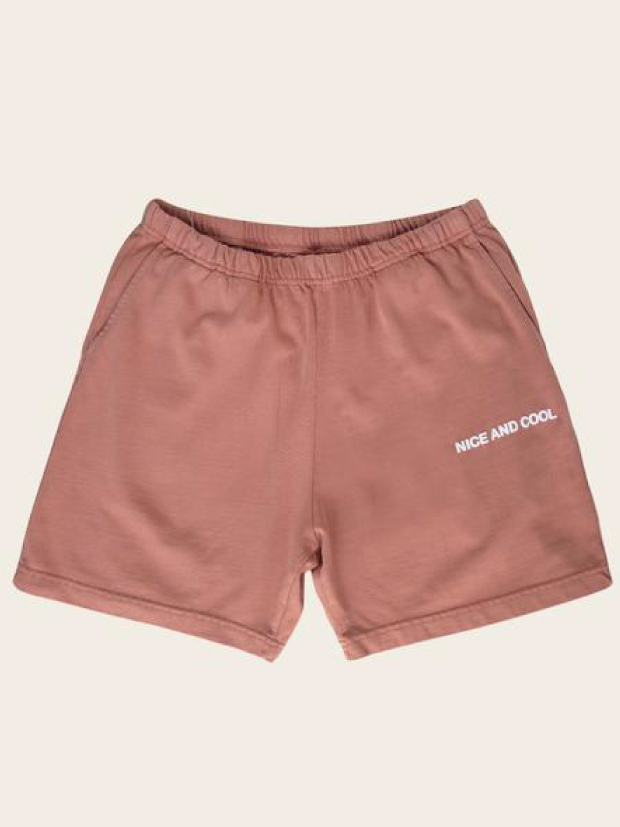 SALT SURF NICE AND COOL SHORTS / RED DIRT