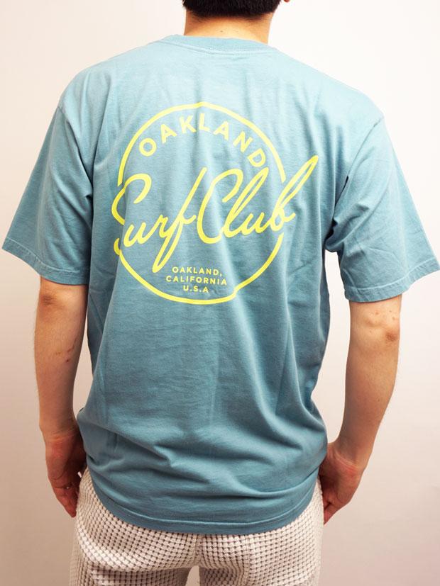 Oakland Surf Club Standard Tee SLATE