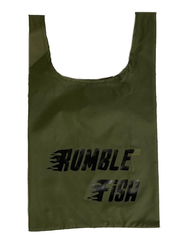 rumbleFISH ORIGINAL ECO BAG / KHAKI