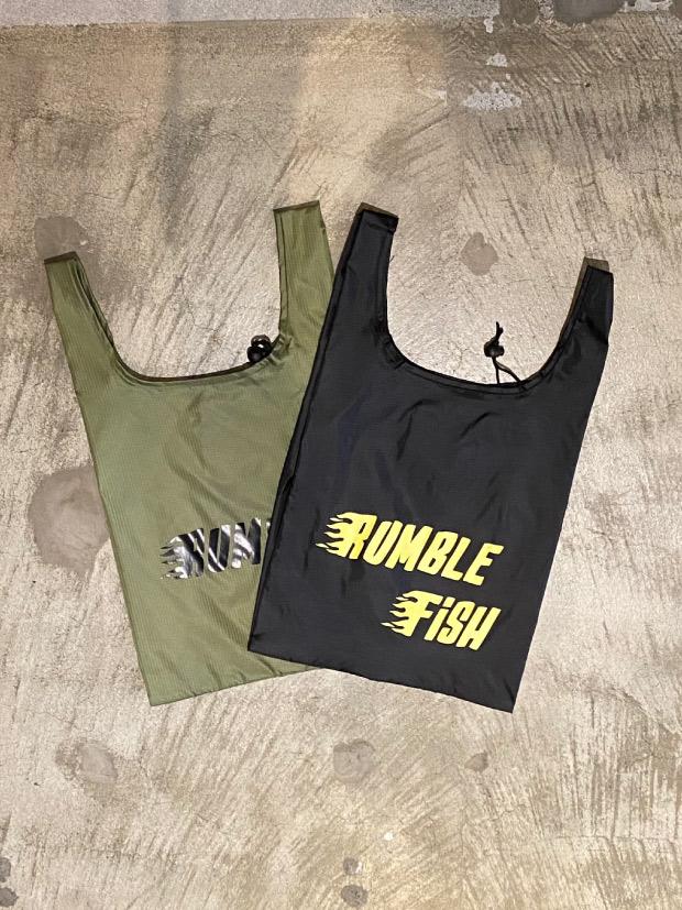 rumbleFISH ORIGINAL ECO BAG / BLACK