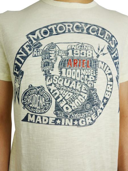 Johnson Motors Inc. ARIEL ENGINE DIRTY WHITE