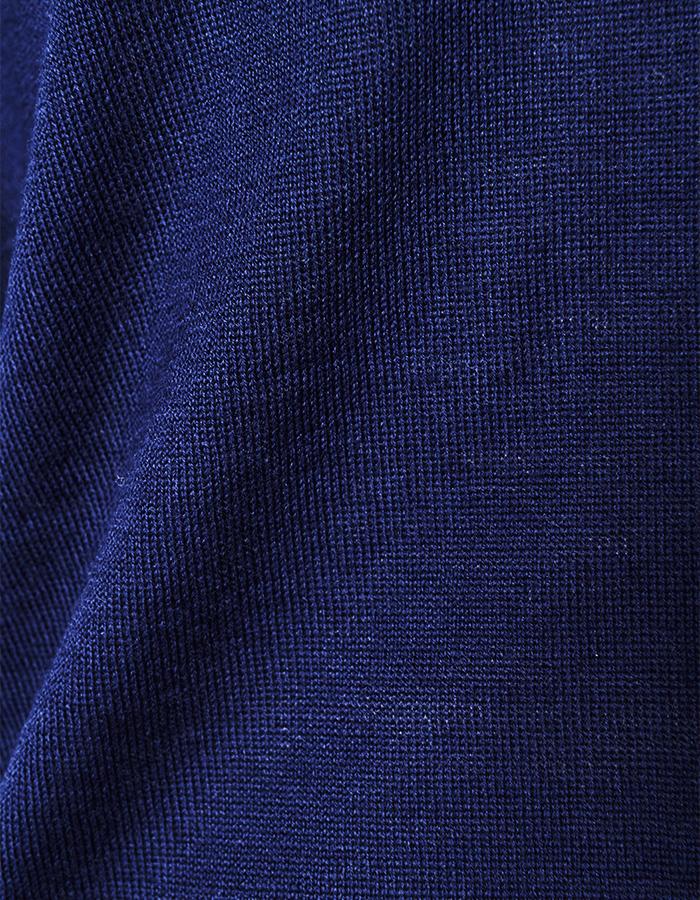 Asymmetry 2way Cardigan / navy