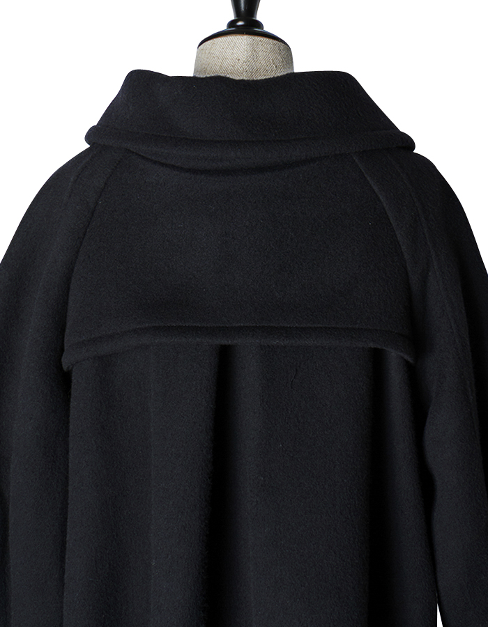River Duffle Coat / black