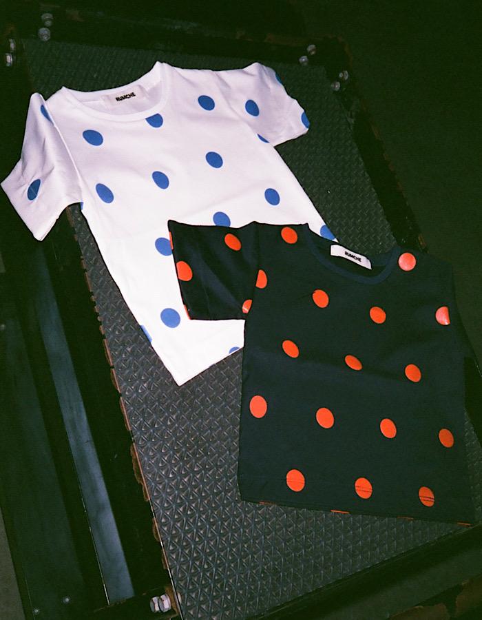 【KIDS】Dot Print T-shirt