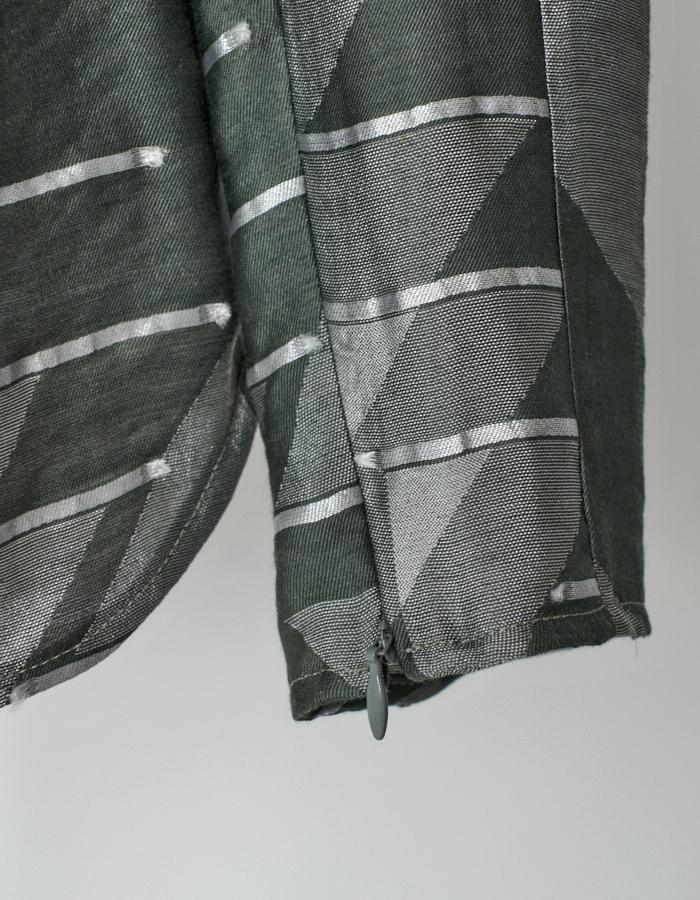 Original Jaquard Tops / khaki