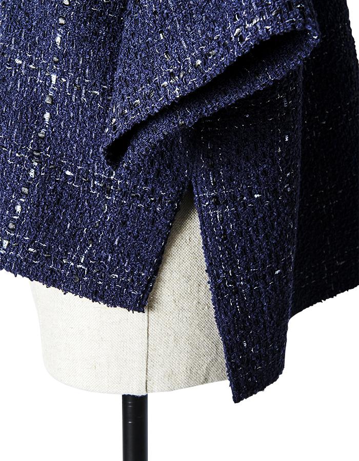 Tweed Tops / navy