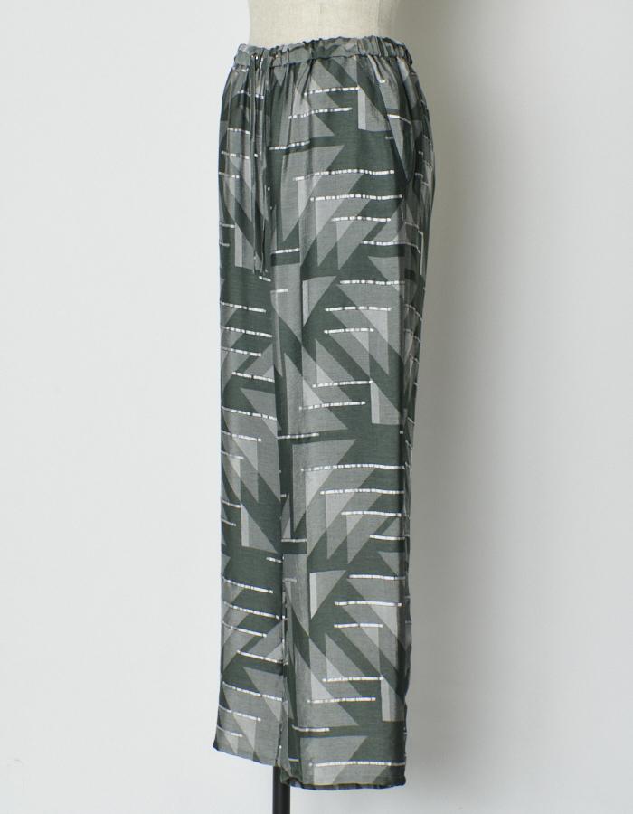 Original Jaquard Pants / khaki