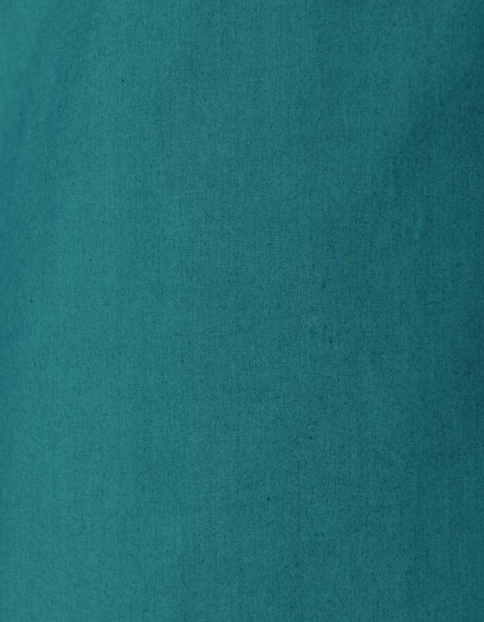 Knit Bonding Shirt / blue green