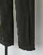 Volume Tuck Pants / black