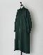 Over Size Shirt Dress / dark green