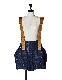 Tweed Overalls / navy