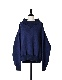 High Neck Sweat Tops / navy