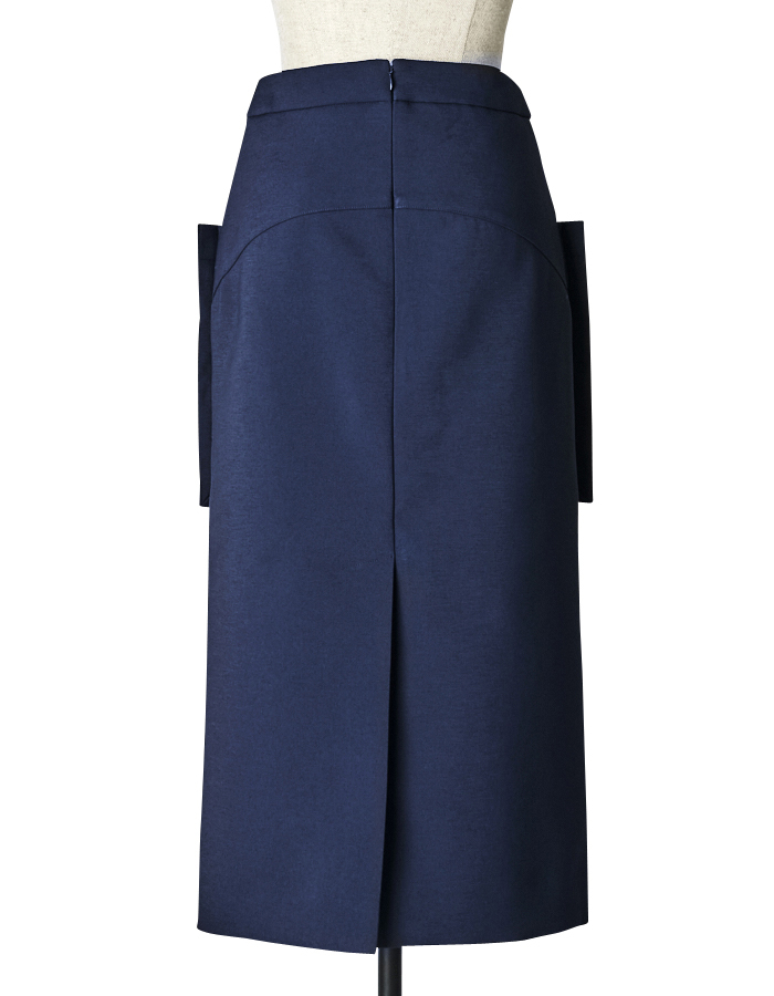 Big Pocket Skirt / navy