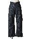 Stripe Center Zip Pants / grey stripe