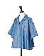 Stripe Silk Cotton Shirt / blue