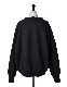 High Neck Sweat Tops / black
