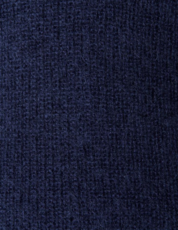 Mohair Knit Vest / navy