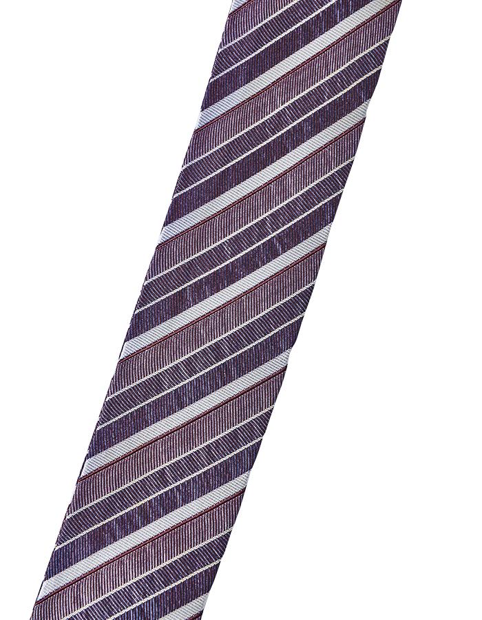 Vintage Remake Tie Choker / purple