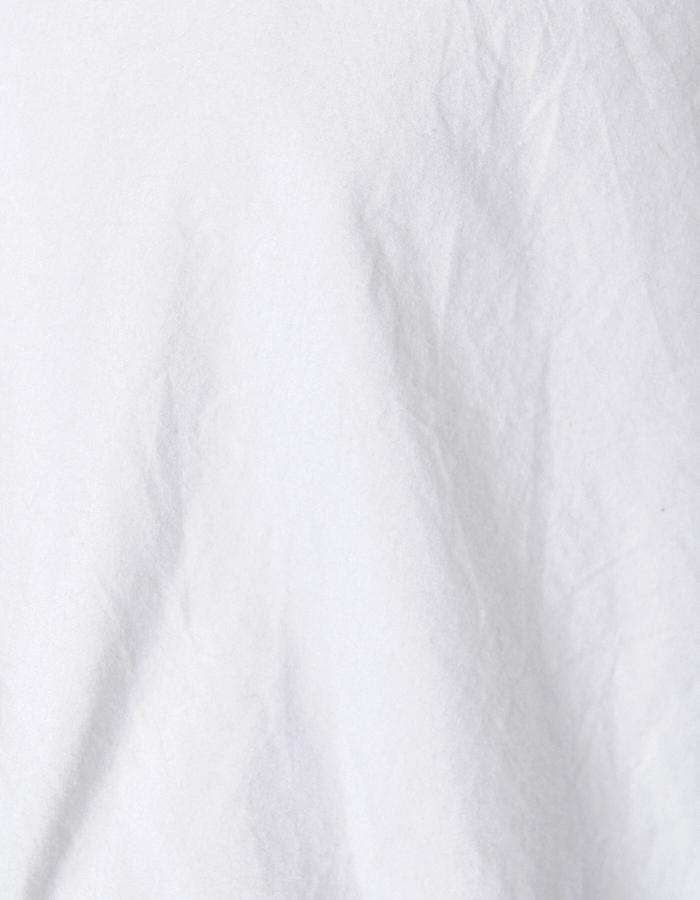 Back Line Print One-piece / white