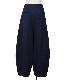 Knit Melton Pants / navy