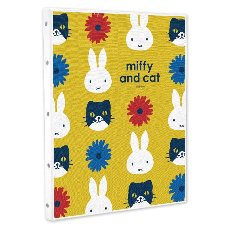 ミッフィー キャンバスアート (miffy and cat)【ご注文より15営業日前後にて発送】