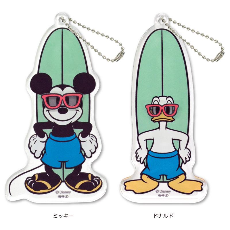 Disney アクリルボールチェーン Surf サングラス【メール便可】【ご注文より15営業日前後にて発送】