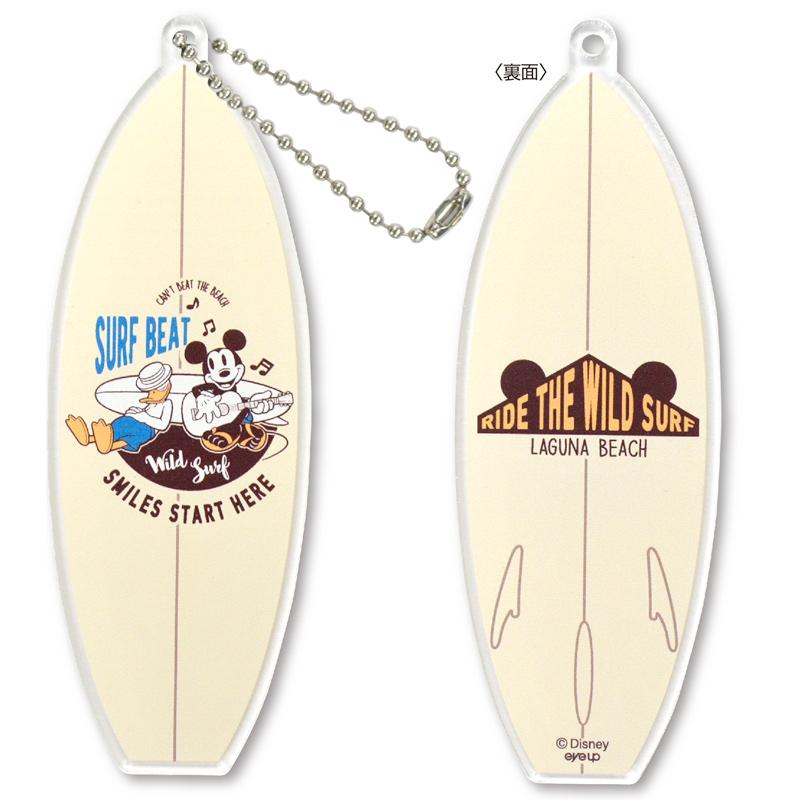 Disney アクリルボールチェーン Surf ボード【メール便可】【ご注文より15営業日前後にて発送】