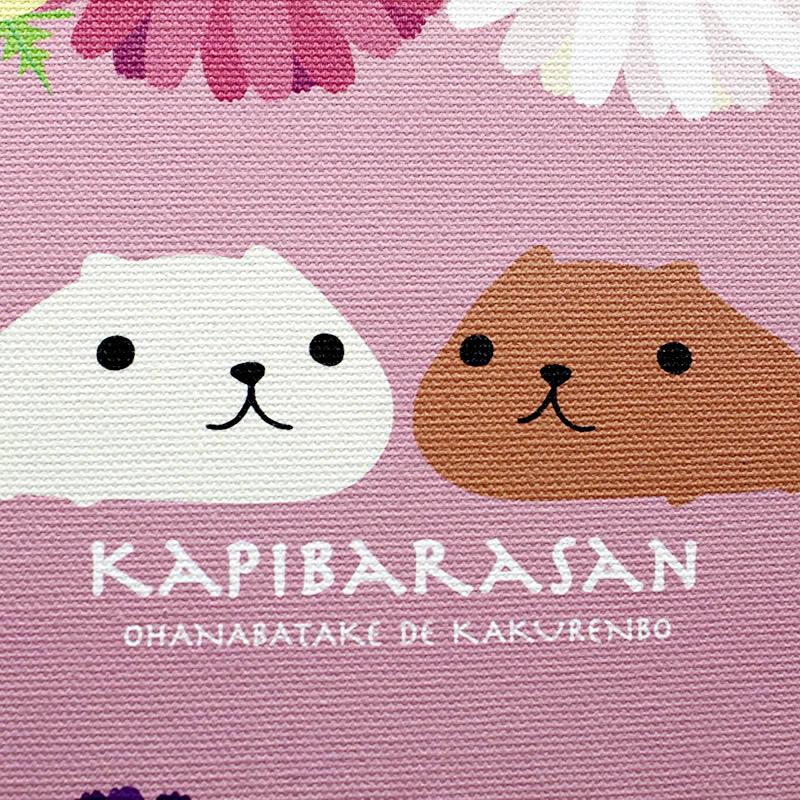 カピバラさん キャンバスアート【ご注文より15営業日前後にて発送】