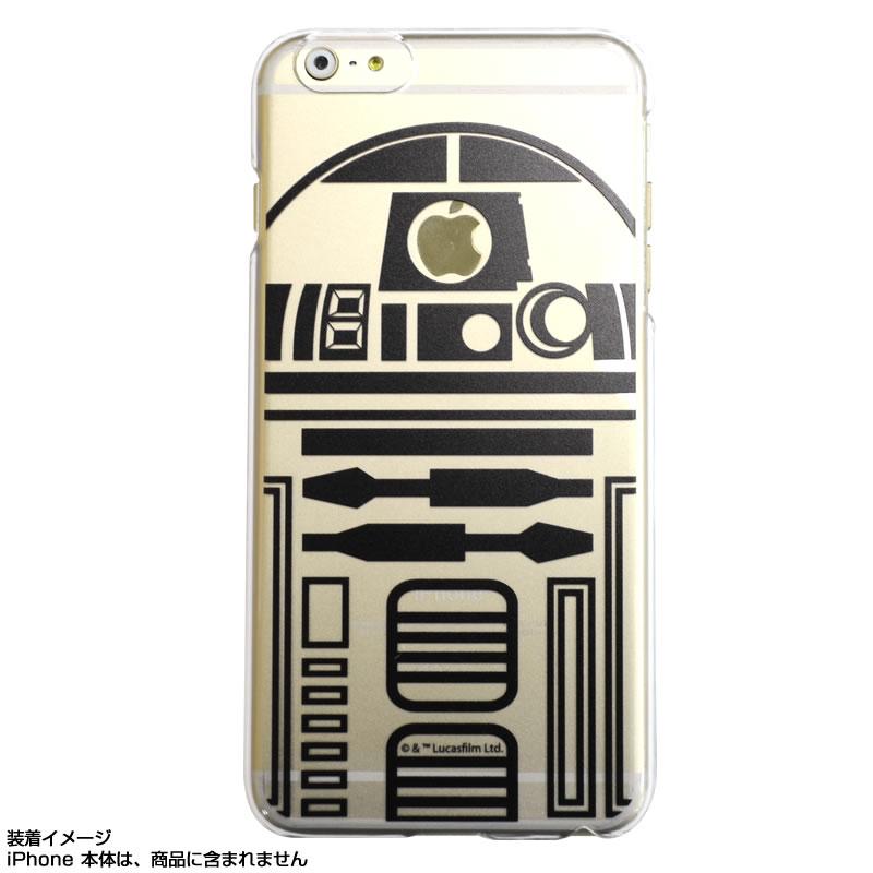 カスタムカバー iPhone 6 PLUS STAR WARS(R2-D2)【メール便可】