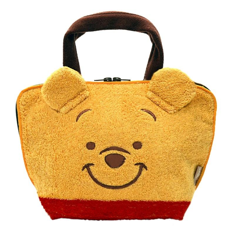 ★マスクケース プレゼント付き★☆ラッピング可能☆どっとポーチ ランチバッグ くまのプーさん(フェイス)