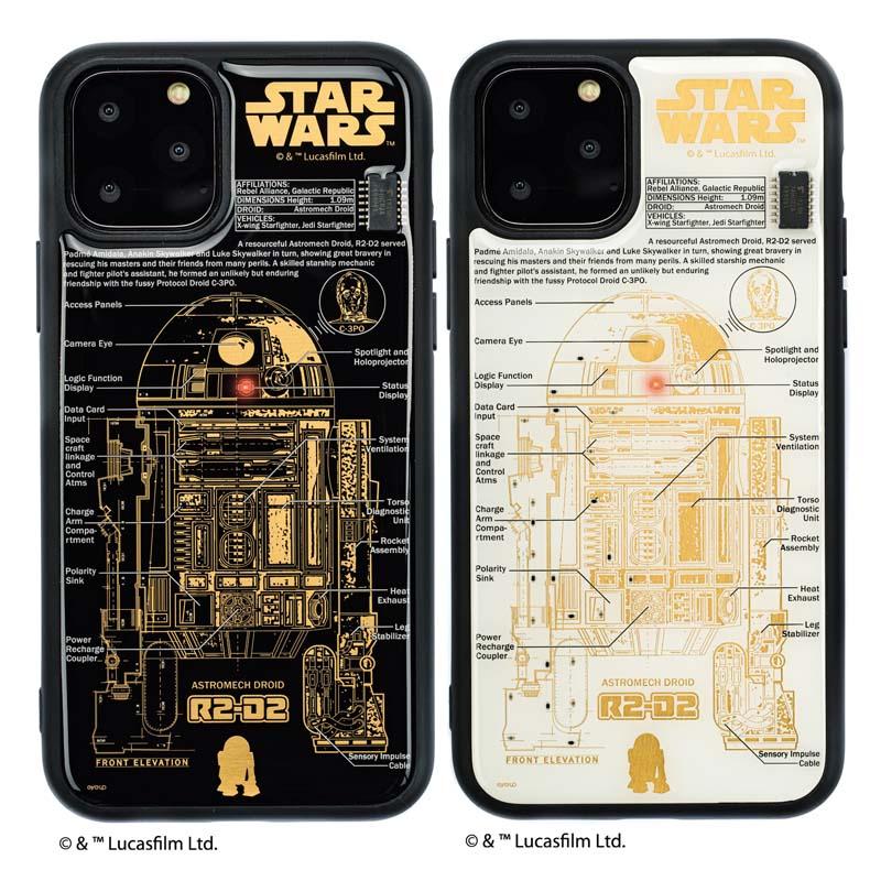 STAR WARS FLASH R2-D2 基板アート iPhone11Proケース【ご注文より20営業日前後にて発送】
